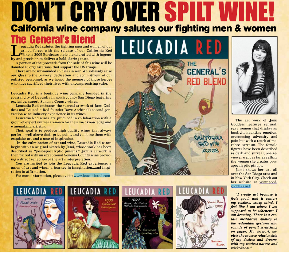 Leucadia Red Military Press