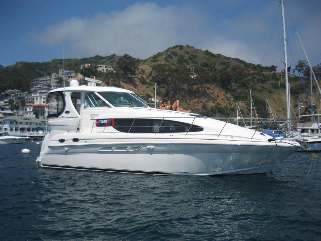 Leucadia Red Yacht
