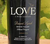 LOVE 09 Dessert Syrah Rogue Valley