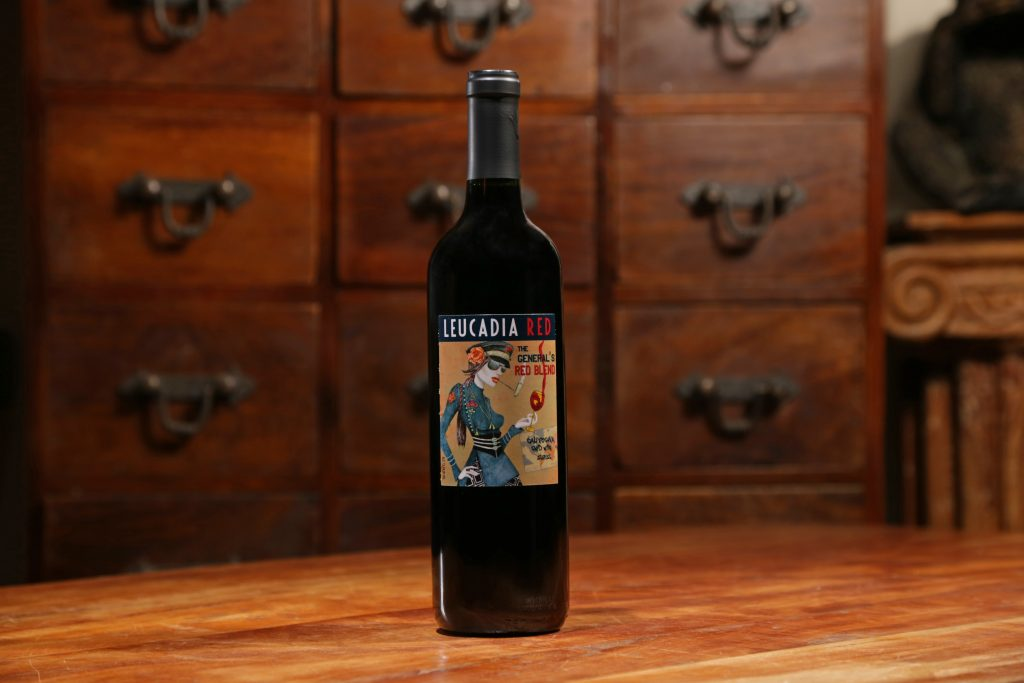 The General's Red Blend_Leucadia Red wine